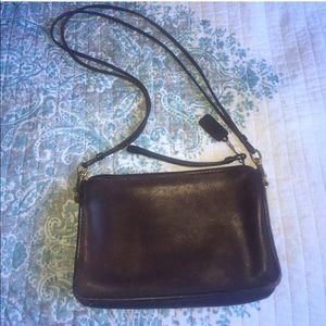 Handbags - Eggplant Purple Coach handbag